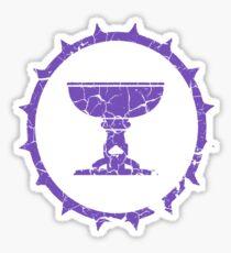 Symbol Des Kaisers Lila V2 Sticker
