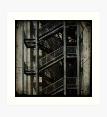 Upstairs Downstairs Art Print