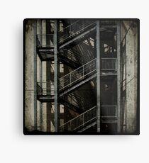 Upstairs Downstairs Metal Print