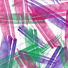 Fantastische Aquarell-Anschläge #watercolor #brushstroke von Creativeaxle