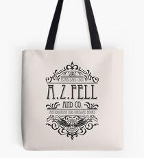 A.Z. Fell Book Shop (dunkel) Tote Bag