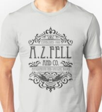 Camiseta ajustada ARIZONA. Fell Book Shop (oscuro)