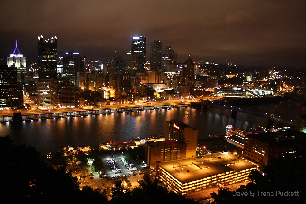 Downtown Pittsburgh by Dave & Trena Puckett