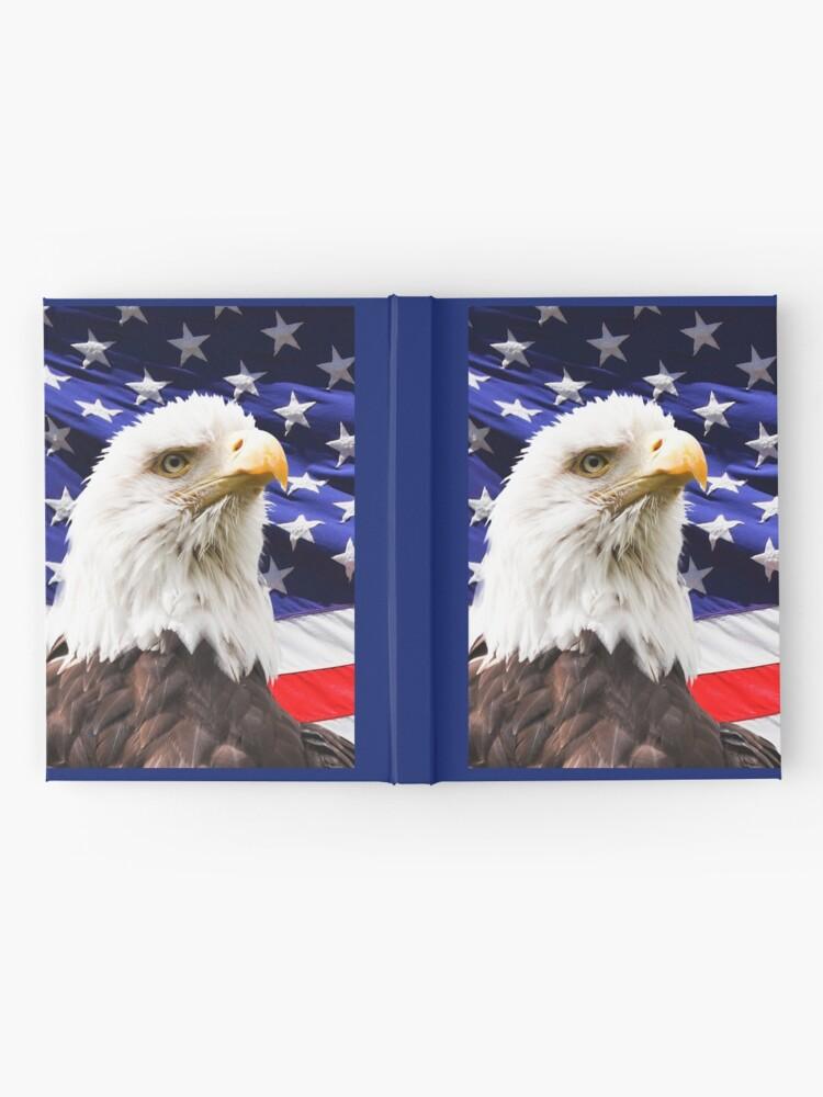 Alternative Ansicht von amerikanischer Adler Notizbuch