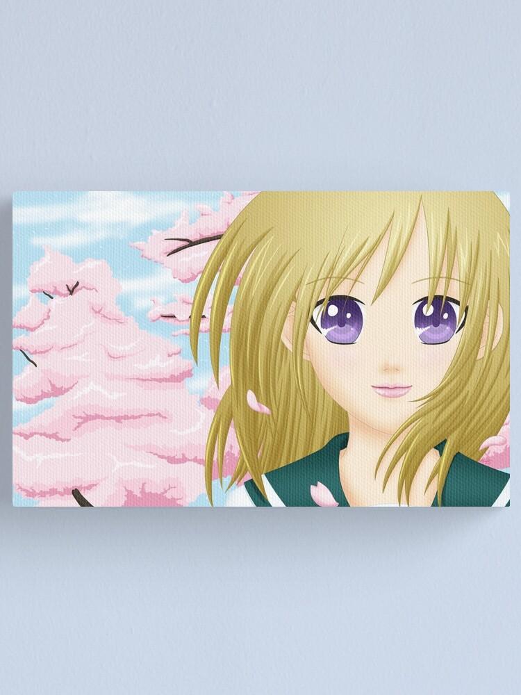 Alternate view of Haru Canvas Print