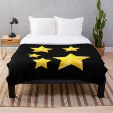 A Star in Your Own World Throw Blanket