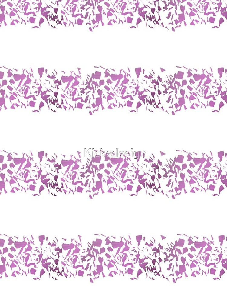 Modern abstract violet purple watercolor geometrical stripes by Kicksdesign