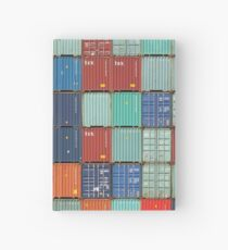Rotterdam Harbour - Containers Hardcover Journal