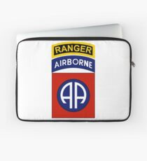 82nd Airborne Ranger Laptop Sleeve