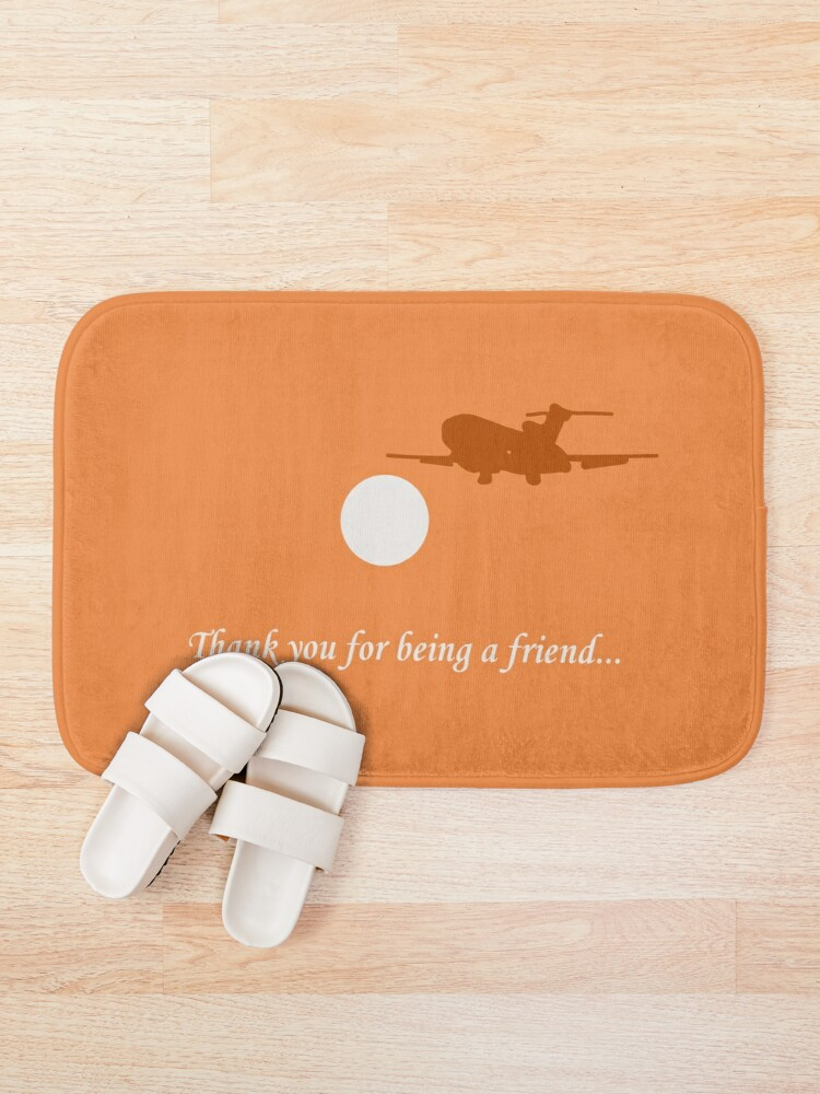 Alternate view of Thank You For Being a Friend! II Bath Mat