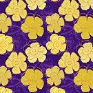 Vintage Floral VI by BigFatArts