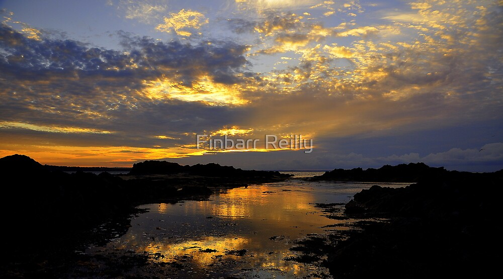 Sunset at Skerries. by Finbarr Reilly