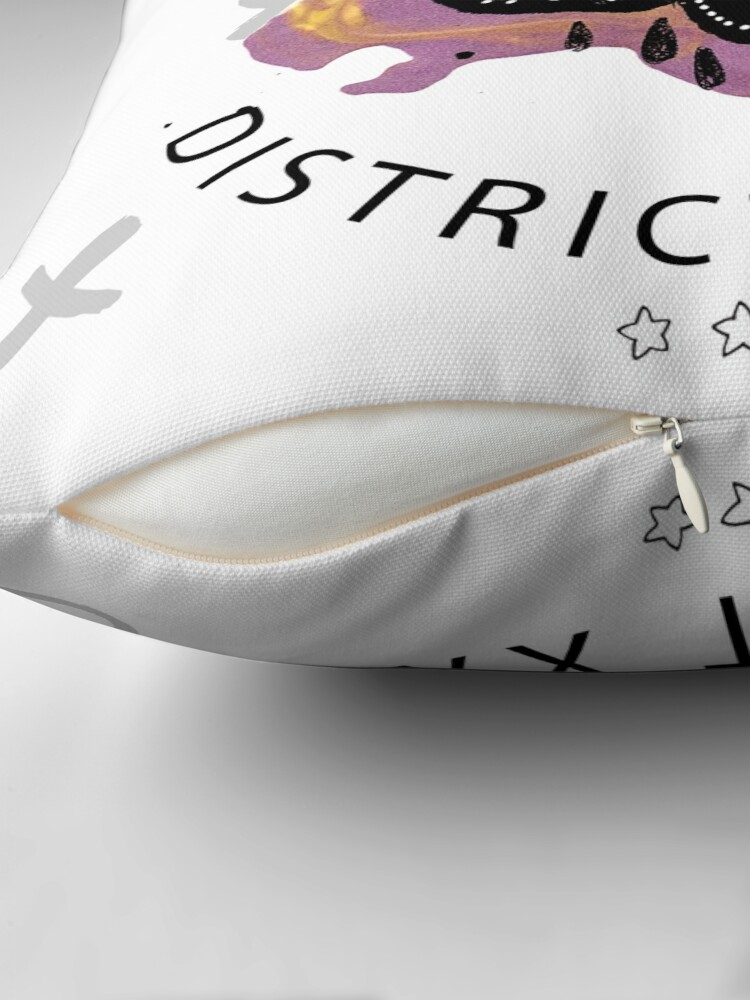 Alternate view of Trendy skull Floor Pillow
