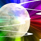 Going To The Moon At Warp Speed by MaeBelle