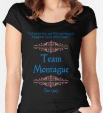 Team Montague Women's Fitted Scoop T-Shirt