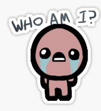 Who Am I? Sticker