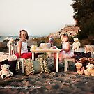 Tea Party on the Beach.... by Kristen  Byrne