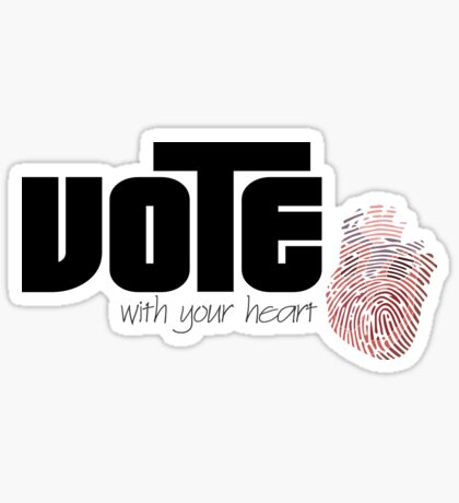 Voting By Conscience Sticker