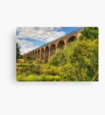 Viaduct over the Avon Valley Canvas Print