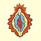 Vulva Mary - The Peach Fuzz by Elizabeth Hudy