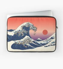 Die große Welle des Mops Laptoptasche