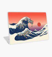 Die große Welle des Mops Laptop Folie
