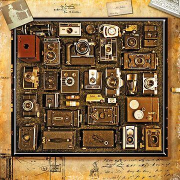 Old School Cameras by malbraman