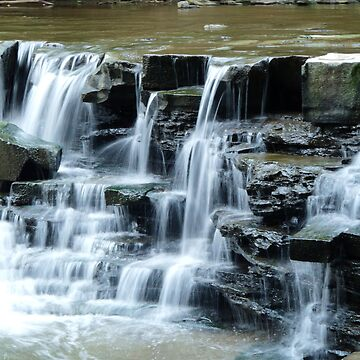 Water Falls on the Chagrin River by OutdoorAddix