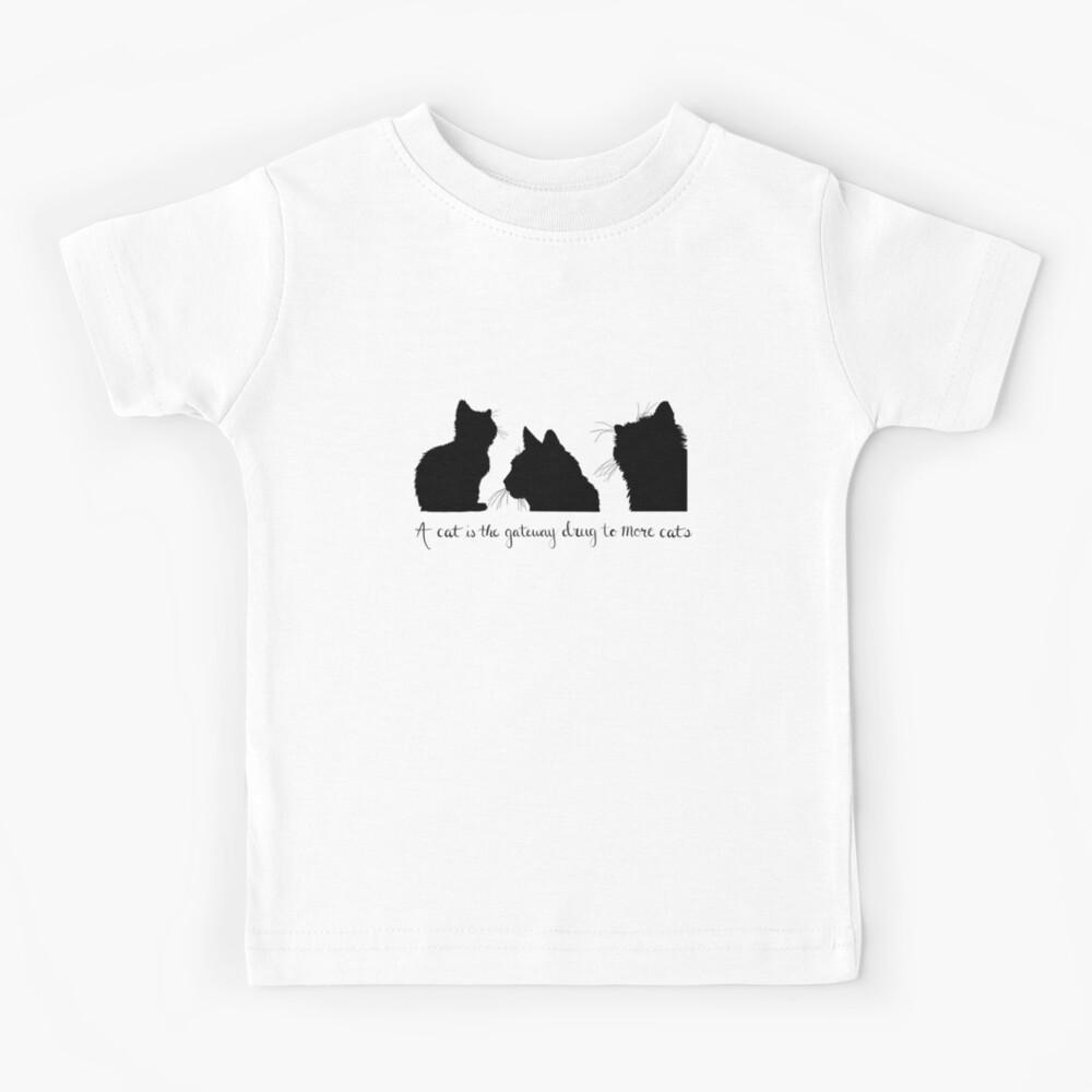 Cat Lady Design Kids T-Shirt