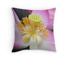 Lotus Detail Throw Pillow
