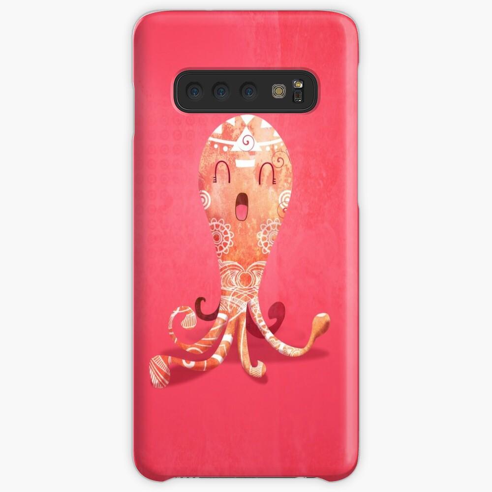 Coque et skin adhésive Samsung Galaxy «Pinky»