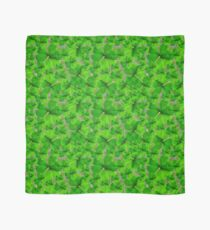 Falling Shamrock Pattern with Celtic Background Scarf