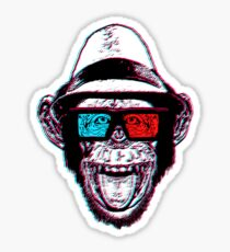 HIPSTER CHIMP - THE CHIMPSTER Sticker