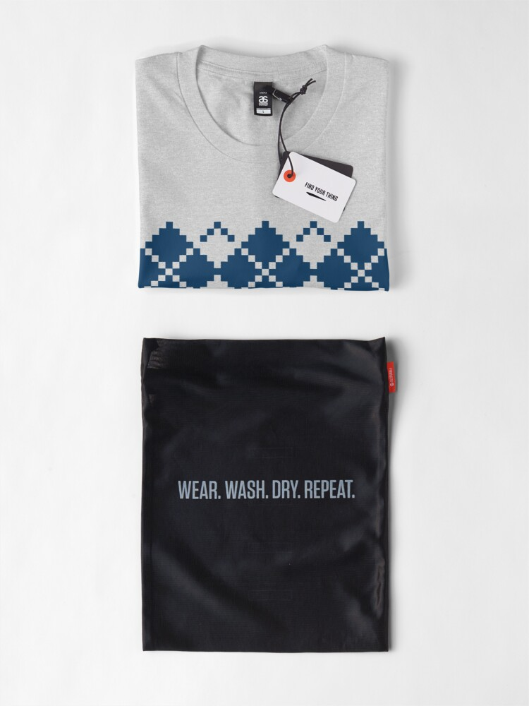Alternate view of ARCADE ARGYLE Premium T-Shirt