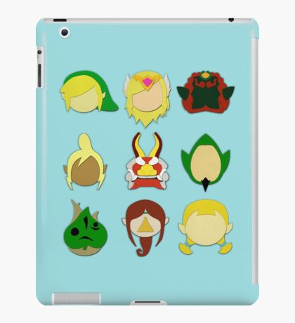 The Wind Waker (Minimalistic)  iPad Case/Skin