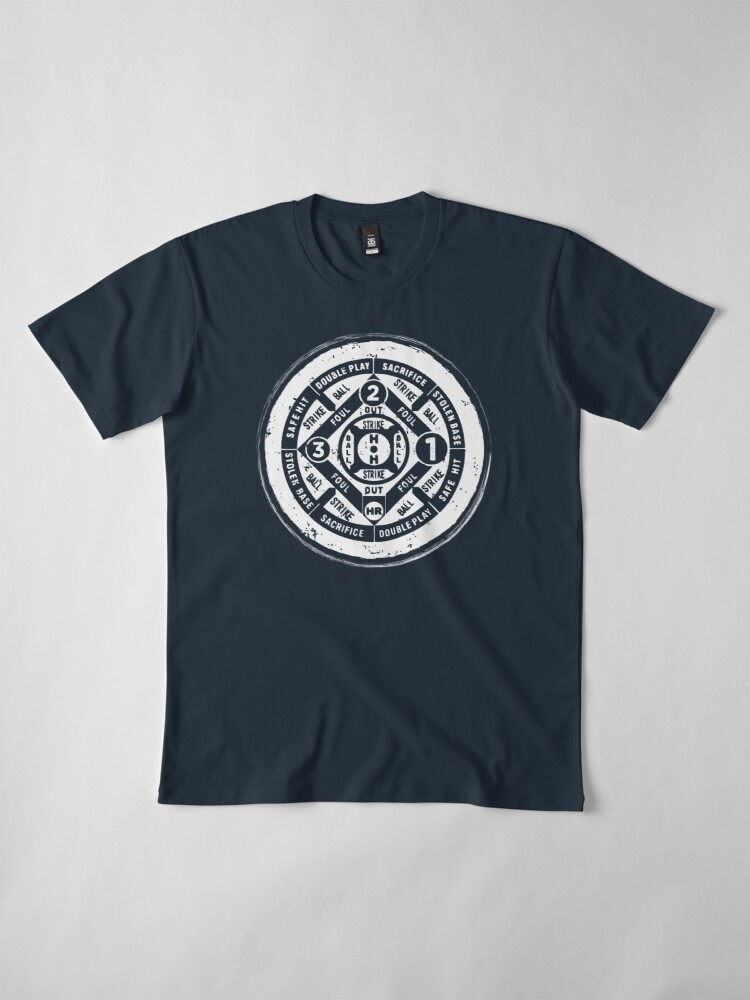 Alternate view of BASEBALL DARTS Premium T-Shirt