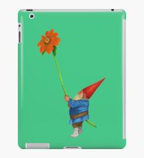 Gnome with Mexican Sunflower iPad Case/Skin