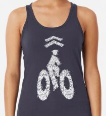 ON YOUR LEFT! Racerback Tank Top