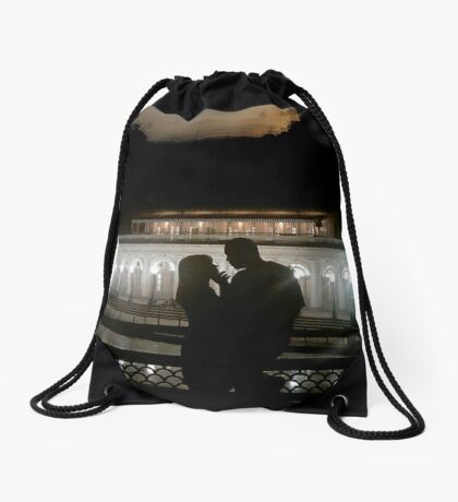 I Am Black Love Drawstring Bag