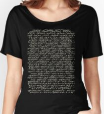 The Standard Model - A Love Poem Women's Relaxed Fit T-Shirt