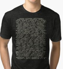 The Standard Model - A Love Poem Tri-blend T-Shirt
