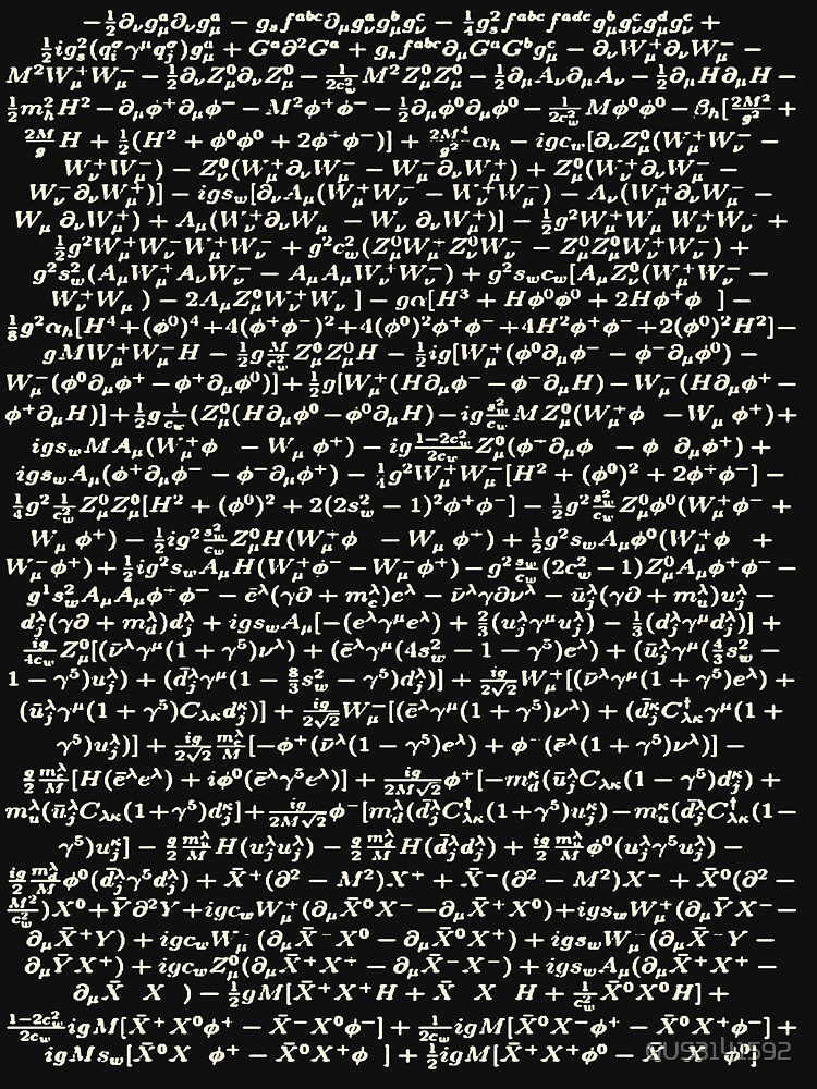 The Standard Model - A Love Poem by GUS3141592