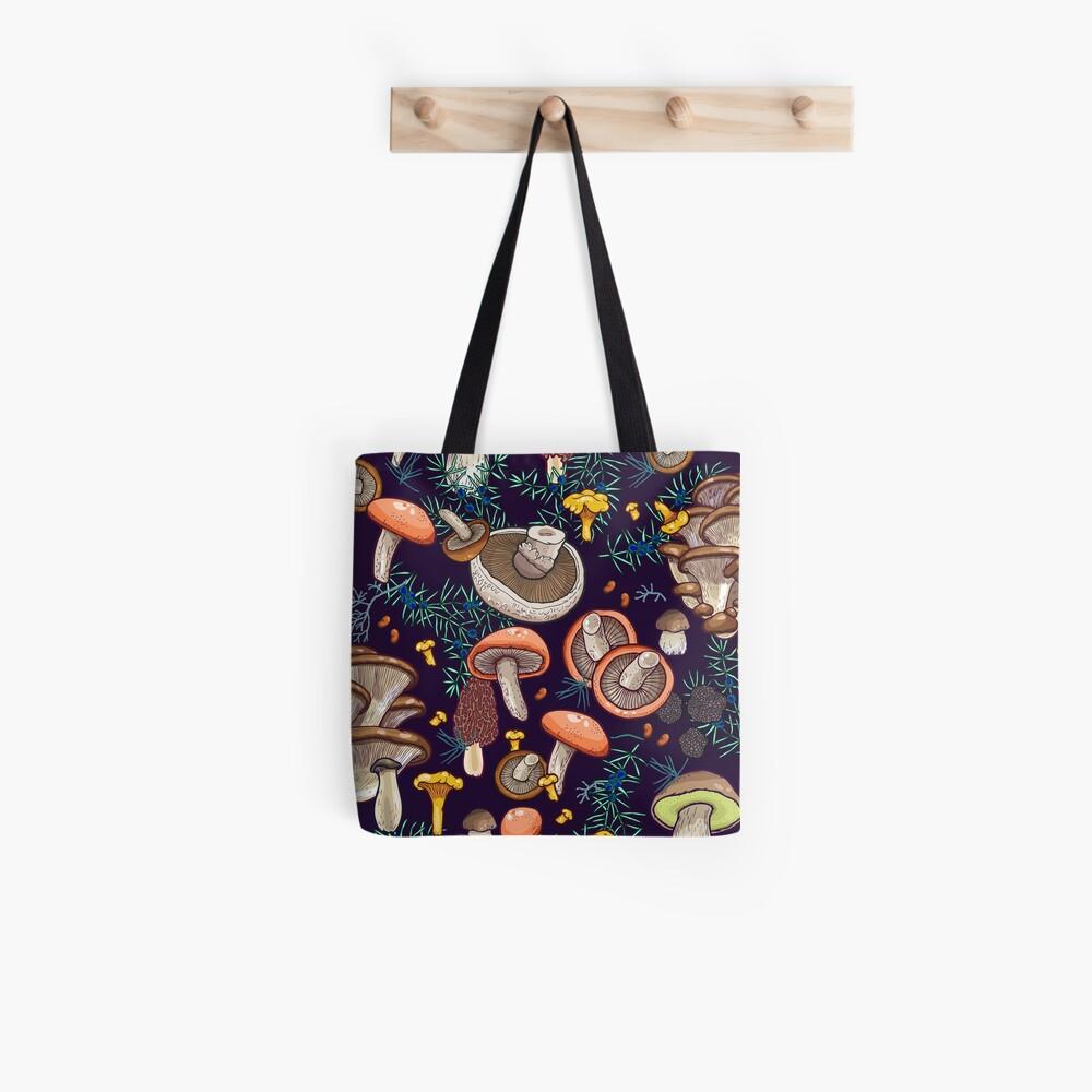 Dark dream forest Tote Bag