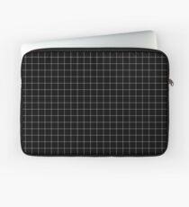 Weißes Gitter Laptoptasche