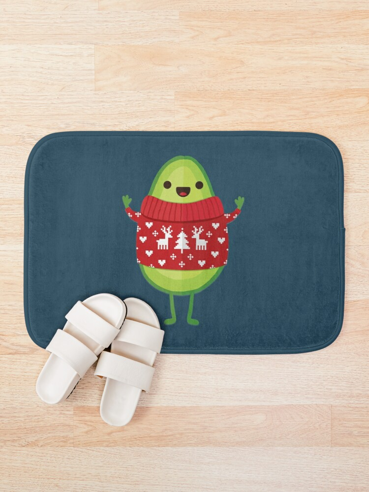 Alternate view of Avo Merry Christmas! Bath Mat