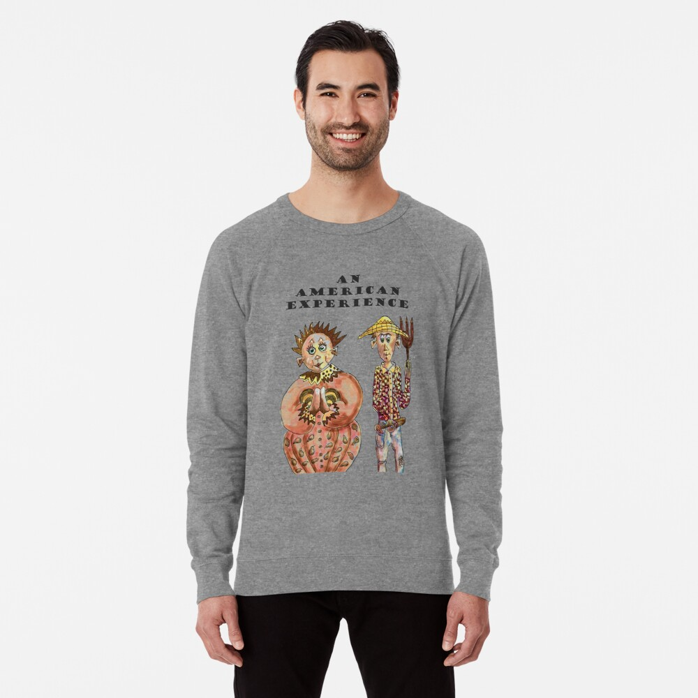 Farmers portrait of An American Experience Lightweight Sweatshirt