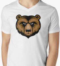 Bear Mascot Head T-Shirt