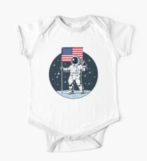 Asteroidday 1 Short Sleeve Baby One-Piece