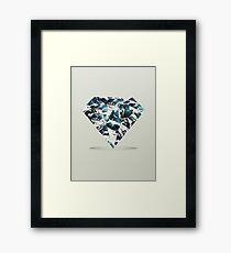 Marble Tide Framed Print