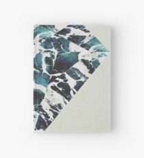 Marble Tide Hardcover Journal